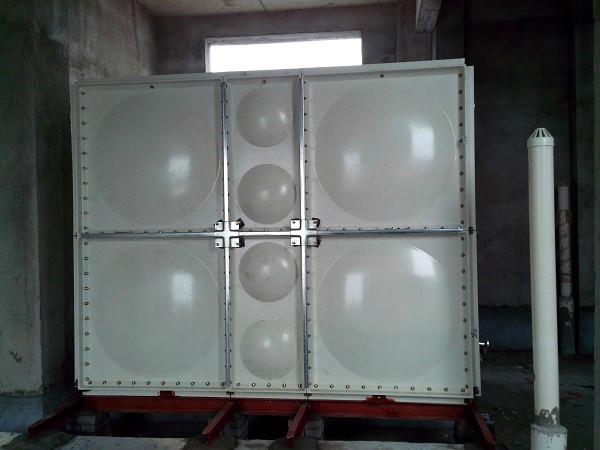 smc玻璃钢水箱是各地及国外市场应用多的新型水箱